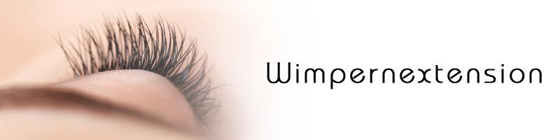 lange Wimpern - Wimpernextension